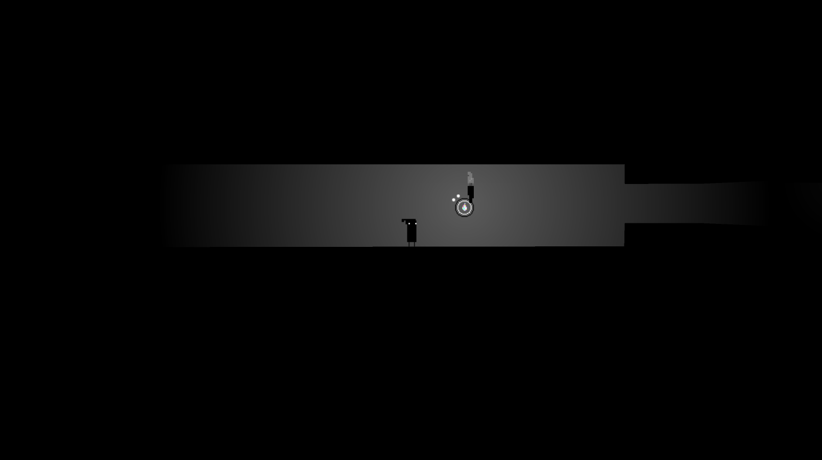 an image of the obstacle and the junction deobfuscated by the orb